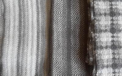 Gorgeous new scarves & yarn